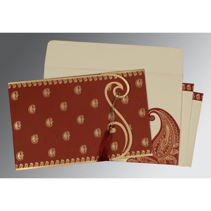 Sikh Wedding Invitation - S-8252A