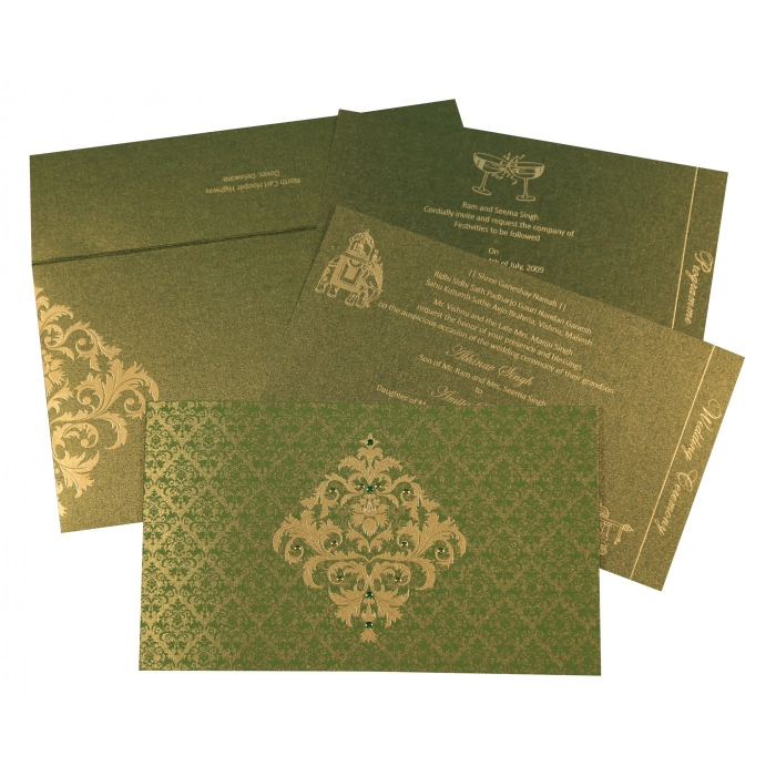 Sikh Wedding Invitation - S-8257A