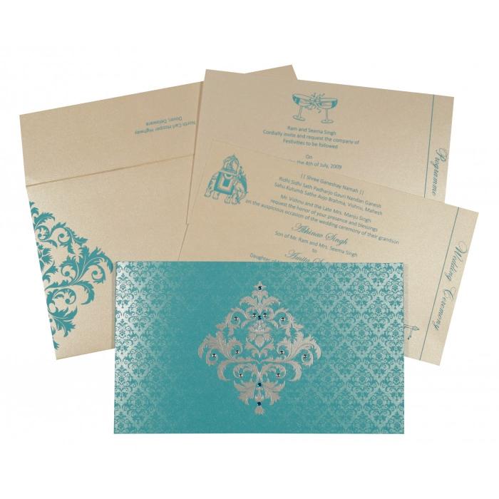 Sikh Wedding Invitation - S-8257E