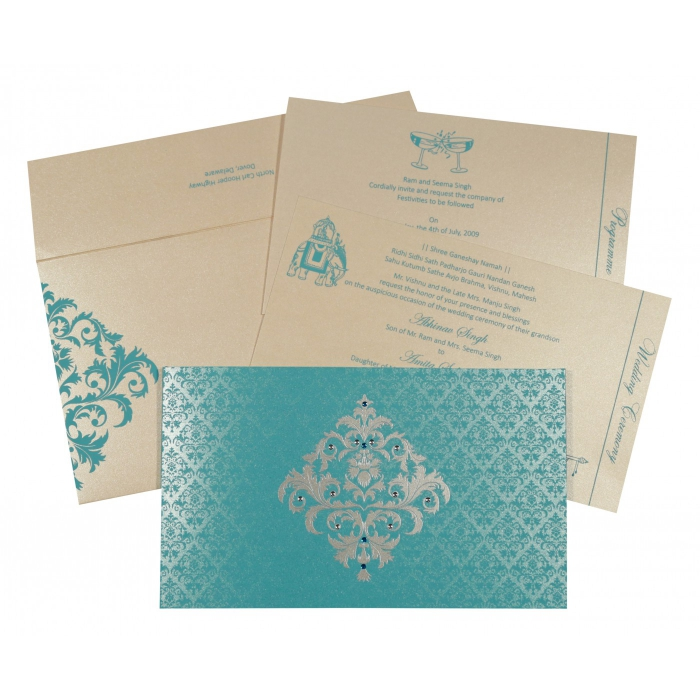 Rustic Wedding Invitations - RU-8257E