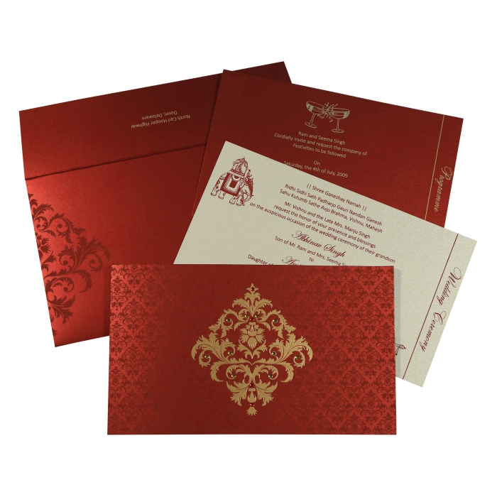 Sikh Wedding Invitation - S-8257H