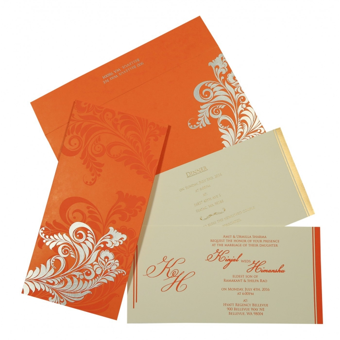 Sikh Wedding Invitation - S-8259D