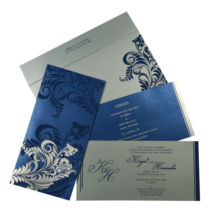 Sikh Wedding Invitation - S-8259E