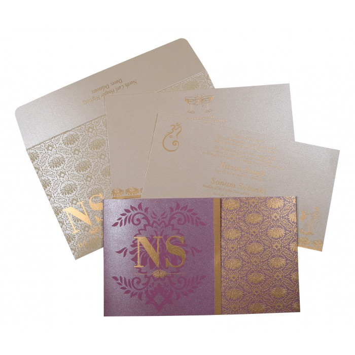 Sikh Wedding Invitation - S-8261A