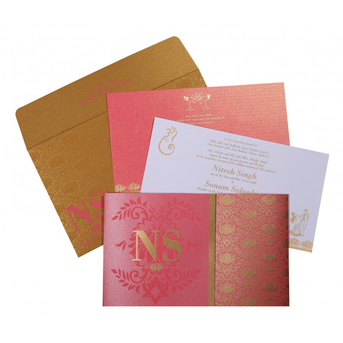 Sikh Wedding Invitation - S-8261B