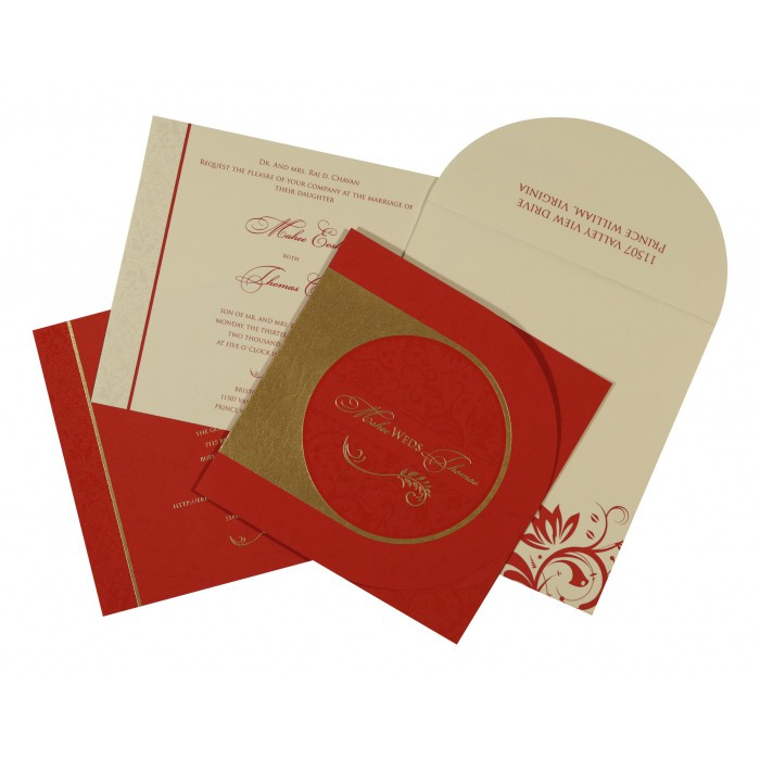 Sikh Wedding Invitation - S-8264D