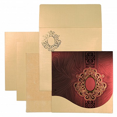 Sikh Wedding Invitation - S-1550