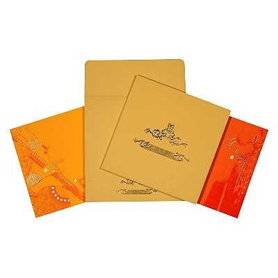 Sikh Wedding Invitation - S-1665