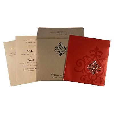 Rustic Wedding Invitations - RU-1703