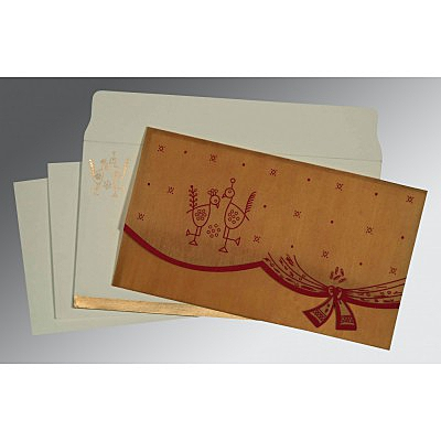 Sikh Wedding Invitation - S-8204D