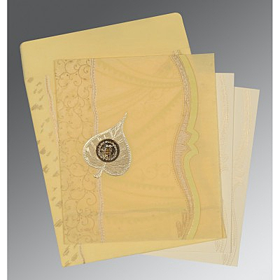 Sikh Wedding Invitation - S-8210G