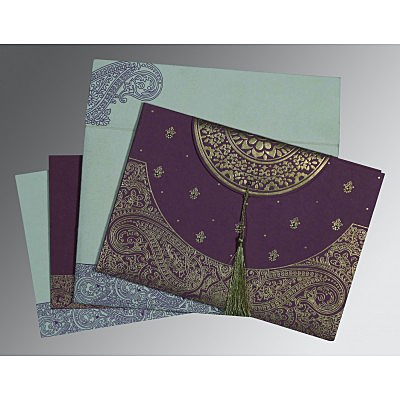 Sikh Wedding Invitation - S-8234D