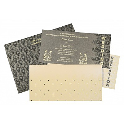 Rustic Wedding Invitations - RU-8256D