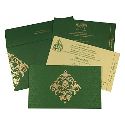 Sikh Wedding Invitation - S-8257F