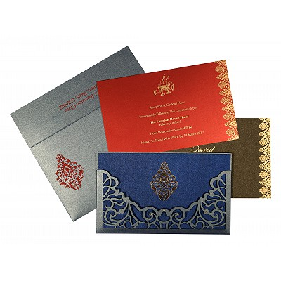 Sikh Wedding Invitation - S-8262E