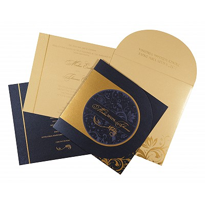 Sikh Wedding Invitation - S-8264F
