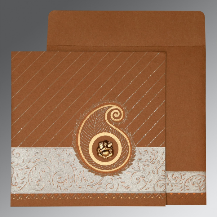Hindu Wedding Cards - W-1178